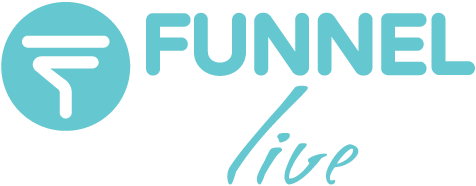 funnel marketing live logo